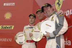 Ferrari Challenge: FCE Coppa Shell, race 1 Podyum