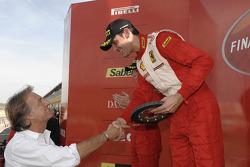Ferrari Challenge: Lorenzo Cas�� ve Luca di Montezemolo
