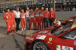 GT: Jaime Melo, Pierre Kaffer, Guiseppe Risi, Alvaro Barba Lopez, Amato Ferrari, Niki Cadei, Toni Vi