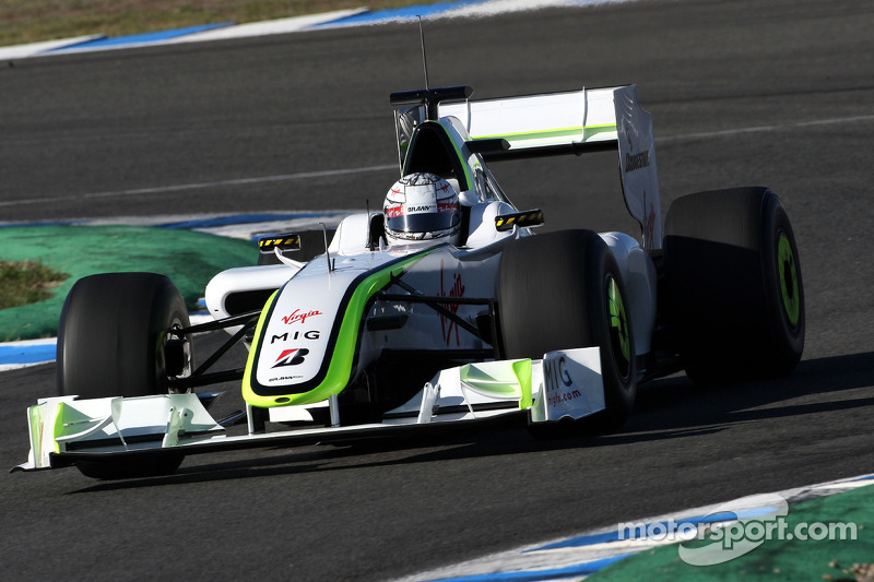 Mike Conway, Tests for BrawnGP