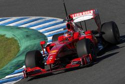 Jules Bianchi, Pruebas para la Scuderia Ferrari