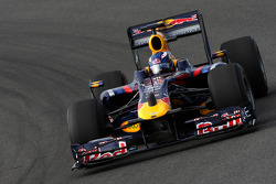 Daniel Ricciardo, Tests for Red Bull Racing, with a horn on the nose
