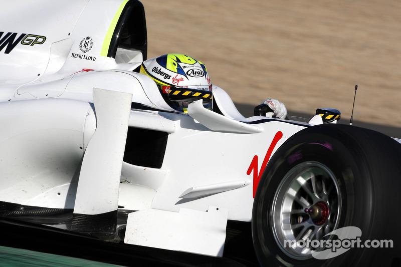 Маркус Ерікссон, Brawn BGP001 Mercedes