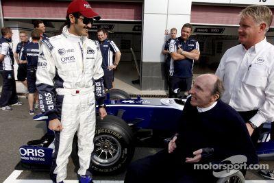 Le Sheikh Khalid bin Hamad Al-Thani teste la Williams F1