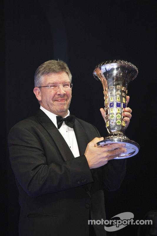 Ross Brawn bij het FIA Gala in 2009