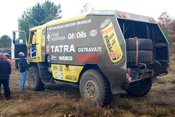 Loprais Tatra Team: Loprais Tatra team gets ready for testing