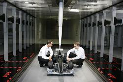 Michael Schumacher avec John Owen,