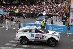 #314 Mitsubishi: Carlos Sousa and Matthieu Baumel