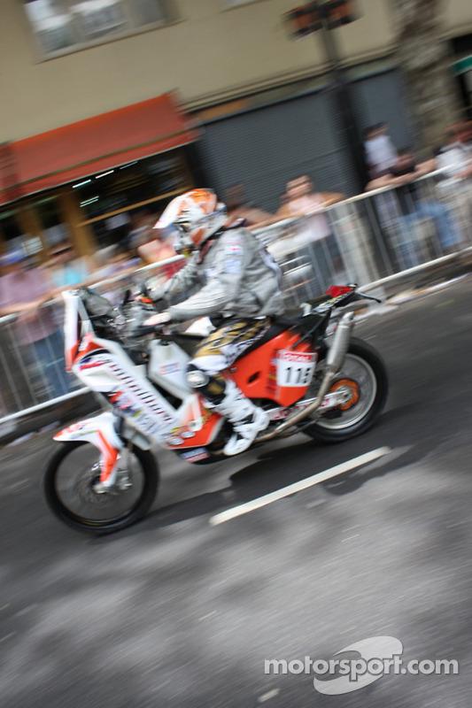 #115 KTM: Rodrigo Andrés Caballero Alcayaga
