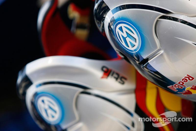 Volkswagen Motorsport: casques