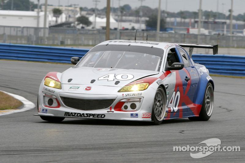 #40 Dempsey Racing Mazda RX-8: Patrick Dempsey, Charles Espenlaub, Joe Foster, Scott Maxwell