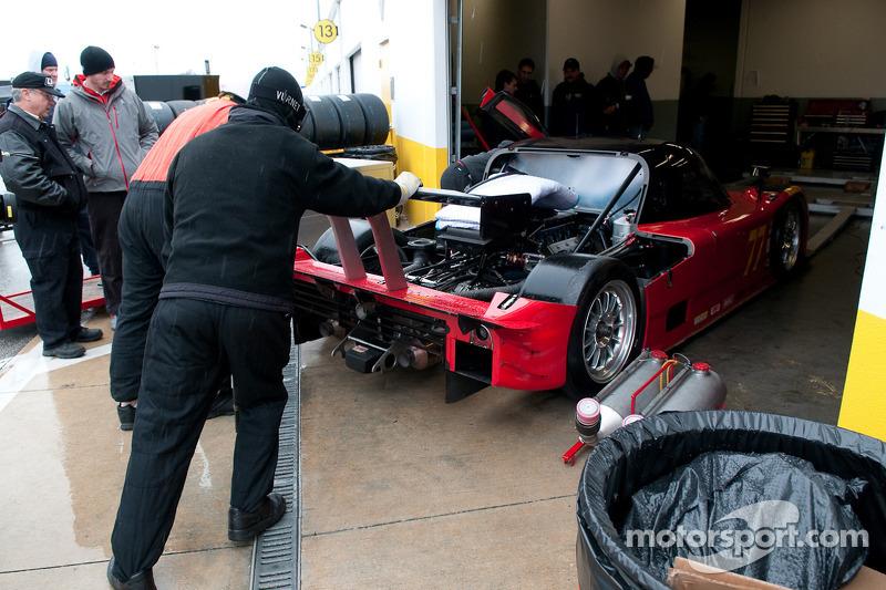 L'atmosphère d'un garage