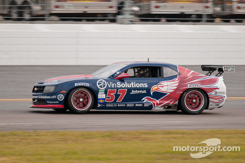 #57 Stevenson Motorsports Camaro GTR: Andrew Davis, Robin Liddell, Jan Magnussen
