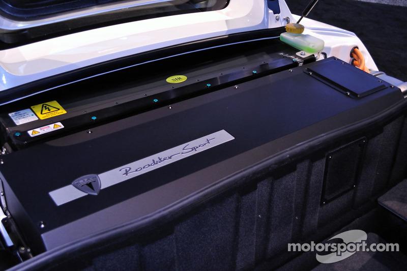 Tesla Roadster détail