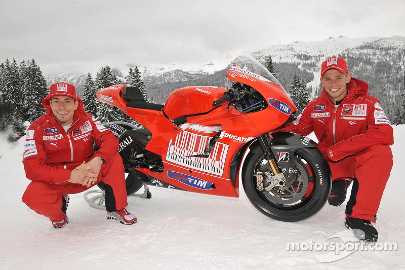 2010 - Nicky Hayden et Casey Stoner