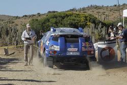 #300 Volkswagen: Giniel De Villiers & Dirk Von Zitzewitz