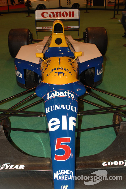 La Williams F1 1992 victorieuse de Nigel Mansell