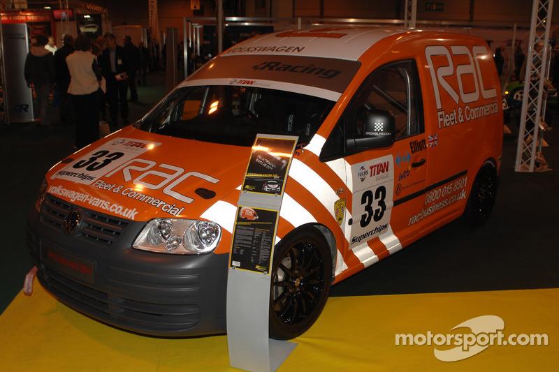 VW Racing Caddy