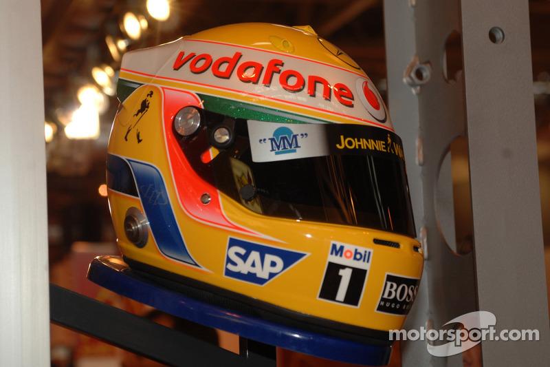 Casque de Lewis Hamilton