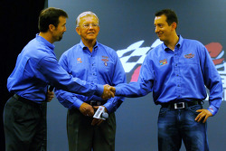 JD Gibbs, Joe Gibbs and Kyle Busch