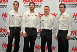 HMS drivers Jimmie Johnson, Dale Earnhardt Jr., Mark Martin and Jeff Gordon