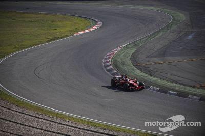 Felipe Massa Ferrari test