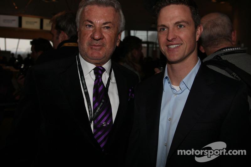 Ralf Schumacher en Willi Weber