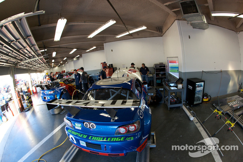 Garage du Dempsey Racing