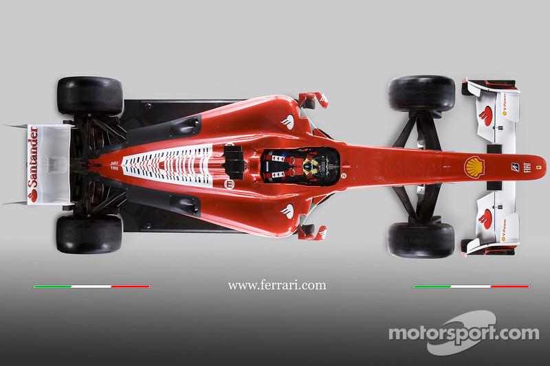De nieuwe Ferrari F10