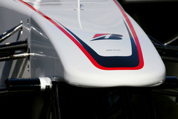 The new BMW Sauber C29, front wing detail