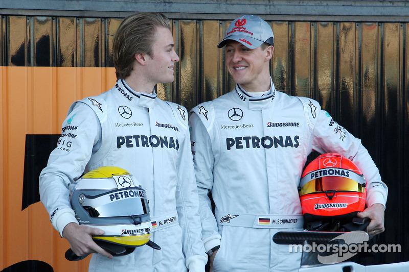 Ніко Росберг і Міхаель Шумахер, Mercedes GP