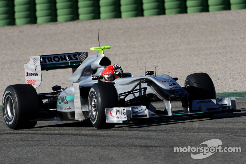 Міхаель Шумахер, Mercedes W01