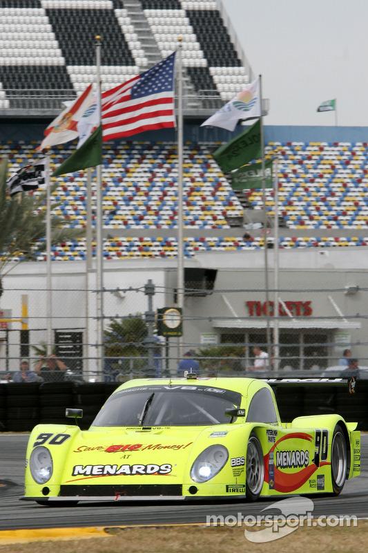 #90 Spirit of Daytona Racing Porsche Coyote: Antonio Garcia, Paul Menard, Buddy Rice