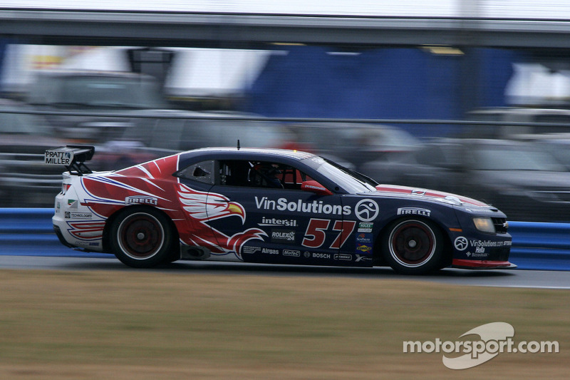 #57 Stevenson Motorsports Camaro GT.R: Andrew Davis, Robin Liddell, Jan Magnussen