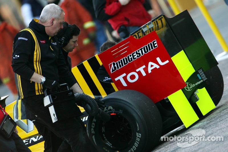 Renault F1 Team mecanicien