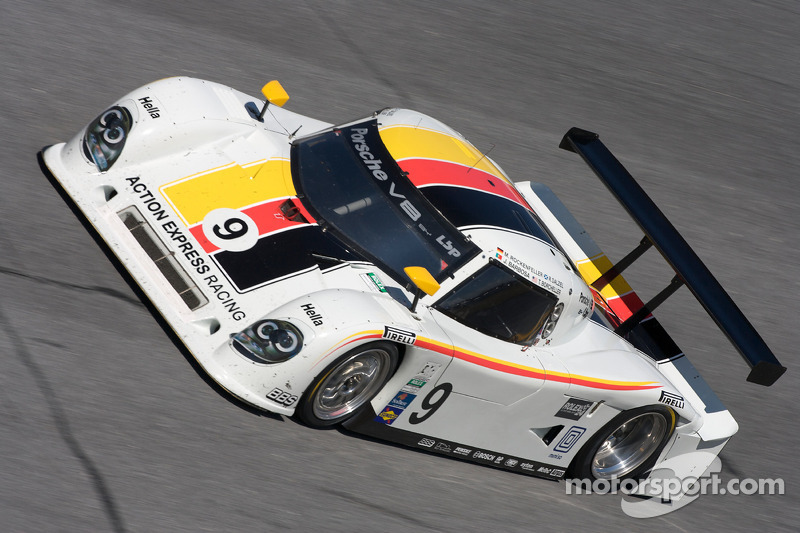 #9 Action Express Racing Porsche Riley: Joao Barbosa, Terry Borcheller, Ryan Dalziel, Mike Rockenfel