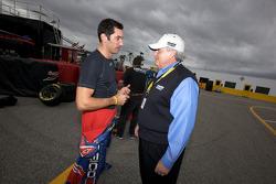 Max Papis, Germain Racing Toyota with Rick Hendrick