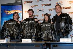 JR Motorsports press conference: Kelley Earnhardt, Dale Earnhardt Jr., Danica Patrick and Simon Waldron