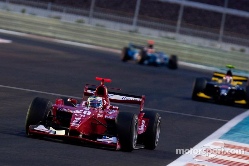 Daniel Zampieri rijdt voor Marcus Ericsson