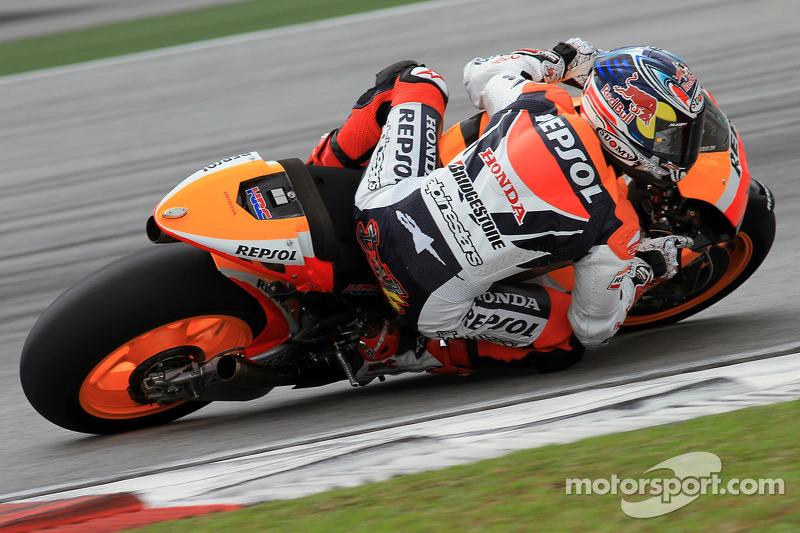 Andrea Dovizioso de l'équipe Repsol Honda
