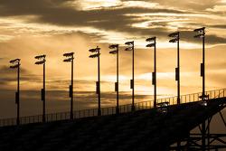 Sunset over Daytona International Speedway