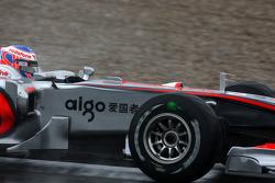 Jenson Button, McLaren Mercedes, MP4-25