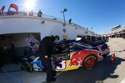 Red Bull Racing Team Toyota team member at work