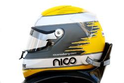 Nico Rosberg, Mercedes GP Petronas helmet