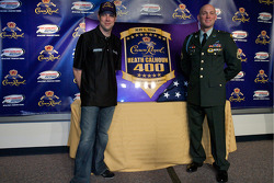 Crown Royal press conference: Matt Kenseth, Roush Fenway Racing Ford and Heath Calhoun present the Heath Calhoun 400 at Richmond