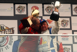 Podium: Paul Morris en Garry Holt