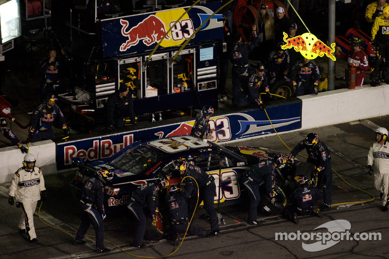 Pitstop Brian Vickers, Red Bull Racing Team Toyota