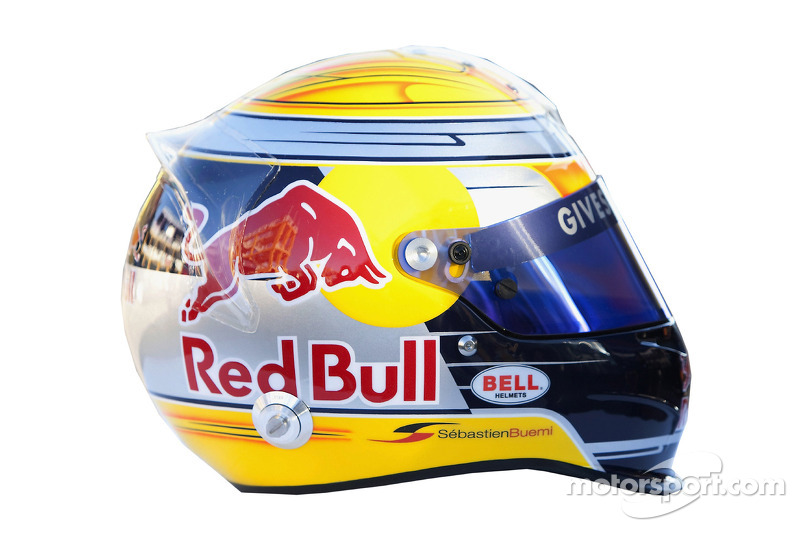 Casque de Sebastien Buemi, Scuderia Toro Rosso