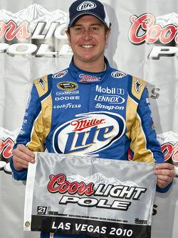 Pole winner Kurt Busch, Penske Racing Dodge
