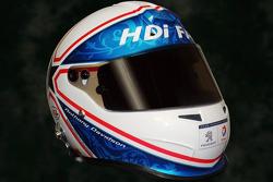 Helmet of Anthony Davidson